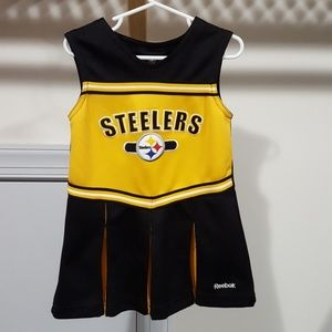 ec6448a6a Reebok Dresses - Girl Pittsburgh Steelers cheerleader outfit